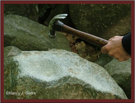 Ringing a rock