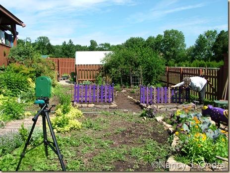 Plant Cam setup for Happy Garden