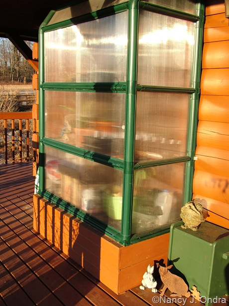 Rion Mini Lean-To Greenhouse