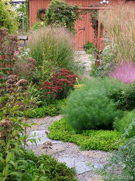 Courtyard at Hayefield Oct 4 2008