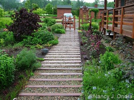 Front path at Hayefield May 18 2011