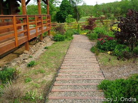 Front path at Hayefield May 12 2011