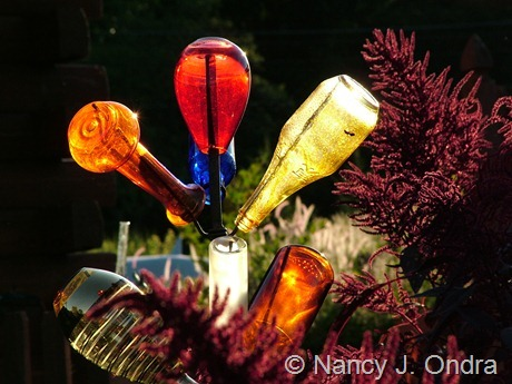Glass in the garden at Hayefield