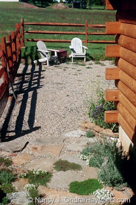 The Courtyard at Hayefield (June 2002)