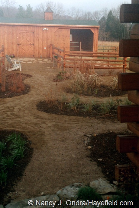 The Courtyard at Hayefield (November 2003)