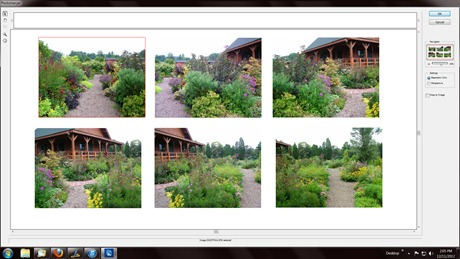 Photoshop Photomerge Panorama Interactive Images from Hayefield