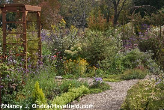 Veg Garden Entrance at Hayefield.com