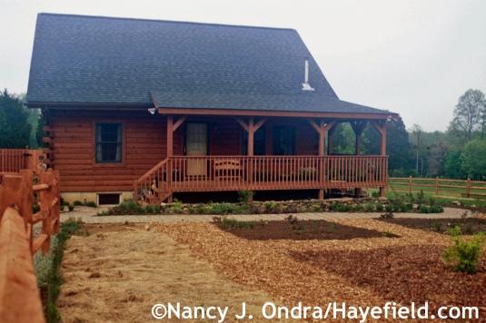 Front Garden Spring 2003 at Hayefield.com