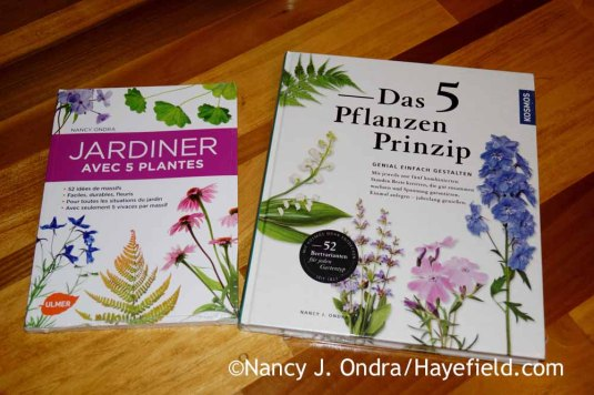 Five-Plant Gardens in French and German; Nancy J. Ondra at Hayefield